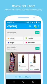 Zappos – Shoe shopping made simple poster
