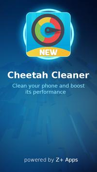 Cheetah Speed Cleaner poster