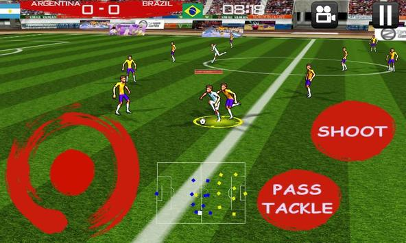 Anime Soccer football apk screenshot