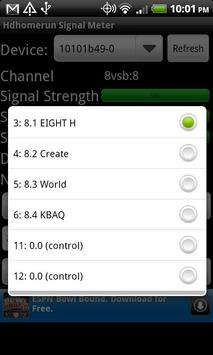 Hdhomerun Signal Meter screenshot 2
