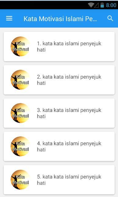 Kata Motivasi Islami Penyejuk Hati For Android Apk Download