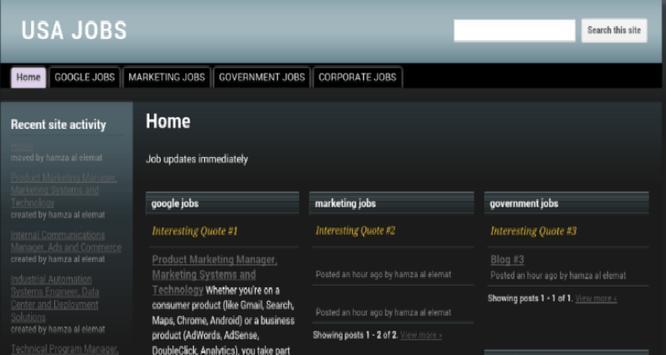 USA Jobs - Update Jobs every 24 hours apk screenshot