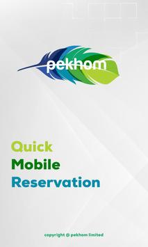 Quick Mobile Reservation poster