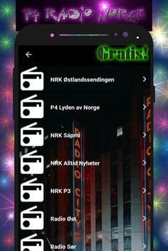 p4 radio norge screenshot 1