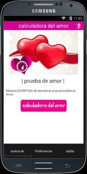 calculadora del amor screenshot 4