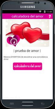 calculadora del amor poster