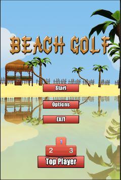 Extreme Beach Golf 3D poster