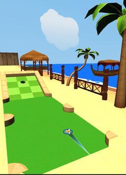 Extreme Beach Golf 3D apk screenshot