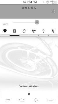 SSDwhiteinverted CM9 theme apk screenshot
