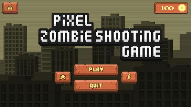 Pixel Zombie Shooting Game poster