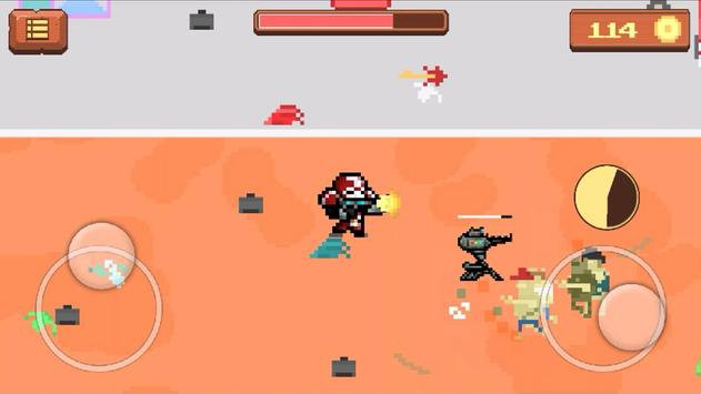 Pixel Zombie Shooting Game screenshot 1