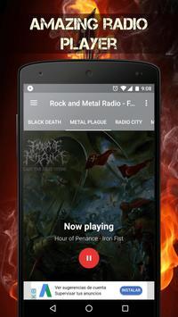 Metal Music Radio & Rock Music Radio Stations poster