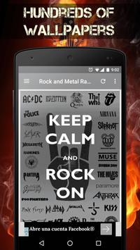 Metal Music Radio & Rock Music Radio Stations screenshot 1