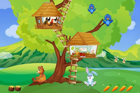 Tree house - Learning games poster