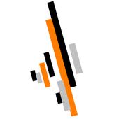 Modische Linie icon
