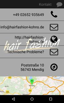 Hair Fashion Kohns apk screenshot
