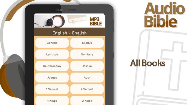The Holy Bible in Audio MP3 apk screenshot