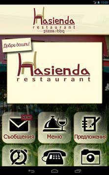Hasienda ресторант poster