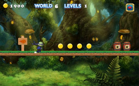 Free Turtles Run Adventure screenshot 1