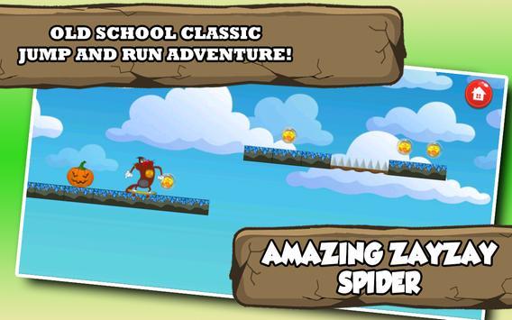 Zayzazay Spider Oggy screenshot 1