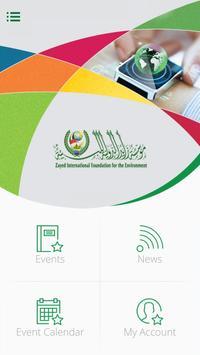 Zayed Foundation Events poster