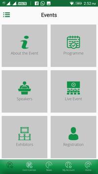 Zayed Foundation Events apk screenshot
