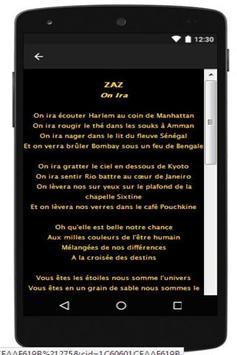 ZAZ New Lyrics apk screenshot