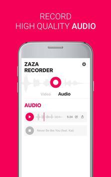 ZaZa Screen and Audio Recorder screenshot 1