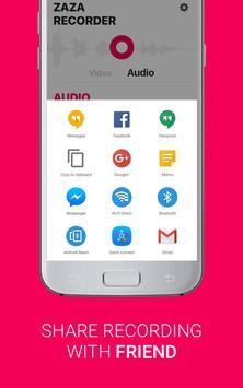 ZaZa Screen and Audio Recorder screenshot 5