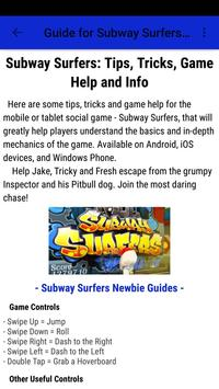 Guide for Subway Surfers 2017 screenshot 3