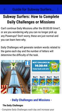 Guide for Subway Surfers 2017 screenshot 7