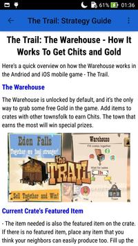 Guide for The Trail screenshot 5