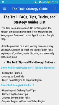 Guide for The Trail screenshot 2