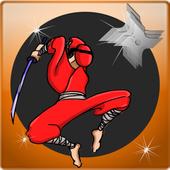 Ninja maze running dash icon