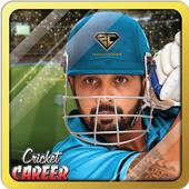 Cricket Career 2016 أيقونة