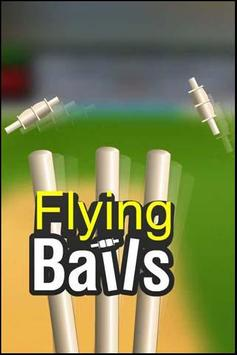 flying bails poster