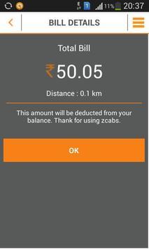 zcabs - book taxi cabs booking screenshot 5