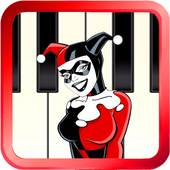 Harley Quinn piano tiles icon