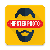 Hipster Photo Editor Stickers icon