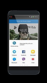 Thug Life Photo Editor apk screenshot