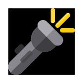 잠금 화면 손전등 icon