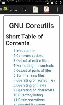 Linux CoreUtils Manual poster