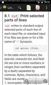 Linux CoreUtils Manual apk screenshot