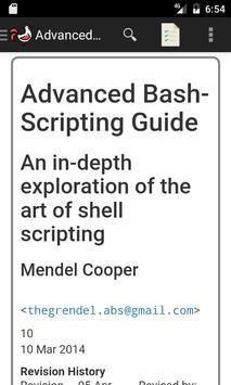 Advanced Bash Scripting Guide Cartaz