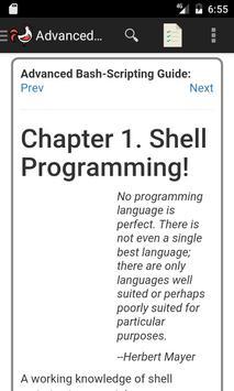 Advanced Bash Scripting Guide imagem de tela 1