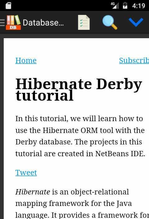 Database (DB) Programming Tutorials for Android - APK Download