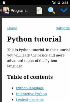Programming Language Tutorials for Android - APK Download