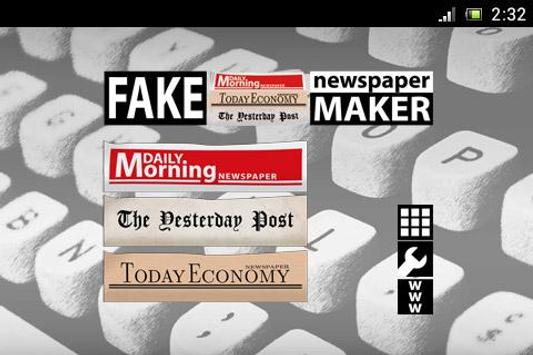 Fake Newspaper Maker for Android - APK Download