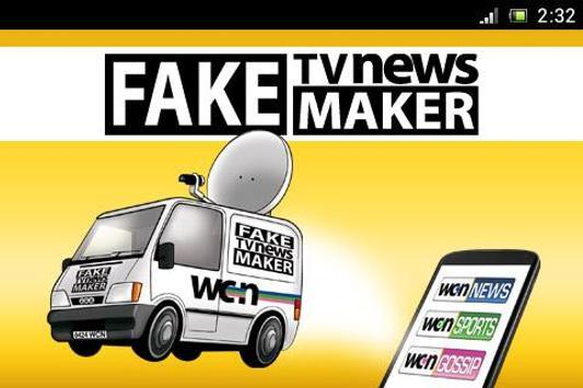 Fake TV News Maker poster