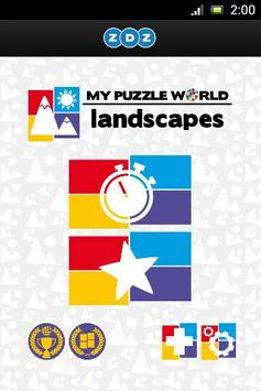 Landscapes Puzzle – MPW poster